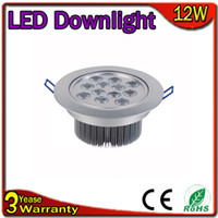 Wholesale Dimmable LED Down Light W LED Ceiling Light Epistar Chip LM W Warranty Years Thick Body CE RoHS FCC