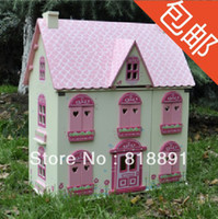 wooden doll - Large Rose ELC Doll House Wooden Doll DIY Toy Good Gift
