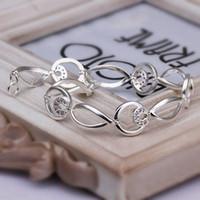 Link, Chain best choice wedding - sterling Silver jewelry Swarovski Elements Crystal new bracelet women wedding party Best choice