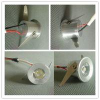 1w - led downlight W mini led cabinet light AC85 V Mini led lamp white or warm white RoHS CE Led ceiling lamp