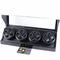 Wholesale Delivery within hours Wooden Luxury watch winder multiple layers of high goss piano lacquer finish watch box