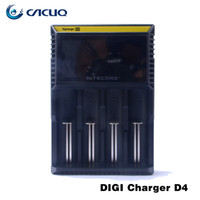 Wholesale Nitecore Digital Charger D4 Battery Charger D4 Battery Charger Genuine Nitecore D4 Battery Charger