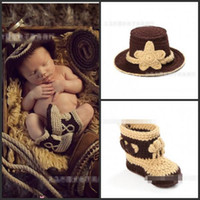 shoes hats caps - Newborn Baby Hats Wool Cap Kids Hat Boy Girl Caps Hats Knitted Beanie Hat suits Children Caps Shoes pieces sets JL