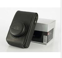 Il nuovo sacchetto della cassa del cuoio della macchina fotografica per stile Leica X2 nero B
