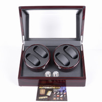Wholesale 4 slot watch winder muliple layers of high goss piano lacquer finish Support power supply and batteryGeneve Program German Quality New tools