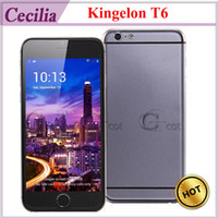 Wholesale star Kingelon T6 i6 android phones MTK6582 Quad Core Smart Phone GHz CPU Inch IPS QHD Screen GB RAM GB ROM MP Android