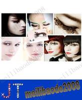 Wholesale hot paper cutting art Eye lashes designs false eyelash Christmas party accessory pairs MYY2819A