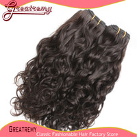 New Arrival High Quality Natural Wave Hair Extensions 3&4pcs...