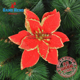 Mini mixed order $10 christmas tree decoration christmas decor red flowers new year decorations free shipping