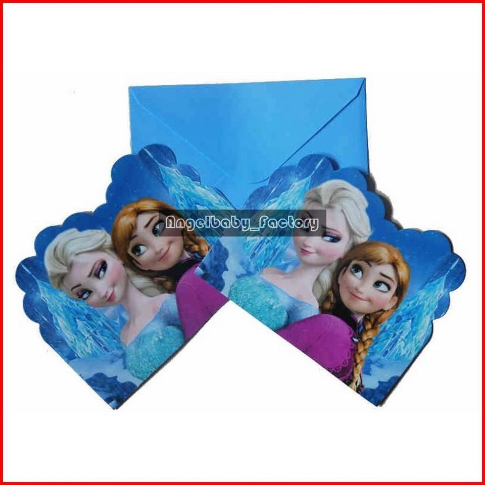 Frozen Movie Birthday Party Supplies