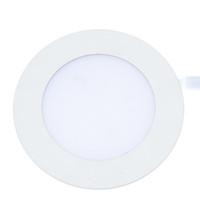 Cheap No White and dark lighting Best 12V cob White round panel lights