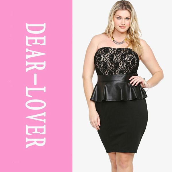 Black tube dress plus size