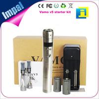 Wholesale Latest vamo v5 mod stainless steel vv vapor pen starter kit manufacturer UPS