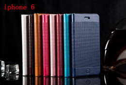 Wholesale For iphone Air G inch Leather Wallet Case Pouch Case Money Stand Purse Credit Card Bag plain skin luxury for iphone plus