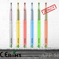 Wholesale Ecigarette Health Ecigarette with Food Grade Pipe Copper Mouthpiece Airflow Control Vaporizer mAH Battery ml Atomizer for ego