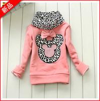 Spring / Autumn kids winter sweater - Baby Girl Sweater Winter Autunm Baby Girl High collar cartoon mickey Long Sleeves Sweater shirt Cotton Turtleneck Kids Shirt