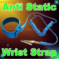 Wholesale 20X Antistatic Anti Static Discharge Wrist Strap Wrist Band New
