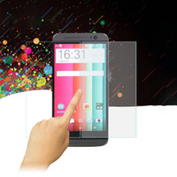Wholesale High Quality Premium Real Tempered Glass Film Screen Protector for HTC M8 With Reatail Packaging
