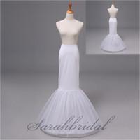 Wholesale 2014 In Stock Cheap Mermaid Crinoline Petticoats Hoop Trumpet Skirt Prom Wedding Bridal Underskirt Real Image Accessories