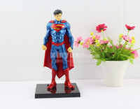 Wholesale Justice League Superman Action Figure Toys DC Comics Superman doll model Cartoon Anime Movies Video Game Toys Hand to do gift ornaments