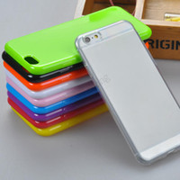 Cheap For Apple iPhone case for iPhone 6 plus Best Plastic Transparent Cover for iPhone 6