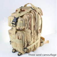 military backpack - Colors L Outdoor Sports bag Tactical Military Backpack Molle Rucksacks for Camping Shoulder Bag Outdoor Trekking Bags