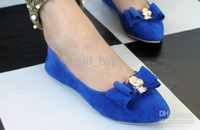 ladies shoes low price - Factory Price Sweet Lady Bowtie Skull Head Fashion Element Low cut Uppers Lady Nude Shoes PRS A11