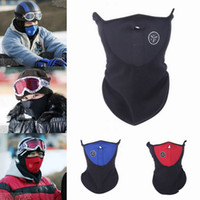 Wholesale 2015 Winter Windproof Neck Half Face Warm Mask Veil For Sport Bike Bicycle Motorcycle Ski Snowboard Outdoor Mask EJB