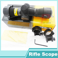 best airsoft rifle - Best selling BSA x28E Red and Green Illuminated Rifle Scope Sight with Free Mount for Airsoft and Outdoor Hunting HT6