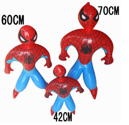 FreeShipping Wholesale Novelty Toy Inflatable Spiderman Toy Cartoon & Anime & Movies Accessories Movie Cartoon Character Factory
