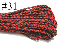 Wholesale High Quality Colors Parachute Cord Strand Core Desert Paracord Outdoor Gear Climbing ft m Nylon Outdoor Tug of war Survival Rope