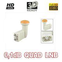 Wholesale Quad LNB DIGITIAL FULL HD Universal LNBF KU BAND For TV Sat HQ