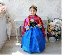 Cheap TuTu dress costume Best Summer Straight frozen dress red cloak