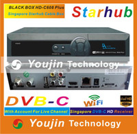 cable box digital - BLACK BOX HD C608 plus Singapore digital cable box decoder black box internet tv receiver cable tv receiver