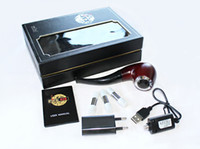 Cheap E-Pipe 628 Electronic Cigarette 510 EGo Thread 350mAh Wood Color Ehookah Mini Pipe 628 Epipe with Three Cartridge
