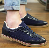 Wholesale 2014 new fall trend of Korean men shoes casual shoes Peas youth driving shoes British style fashion shoes