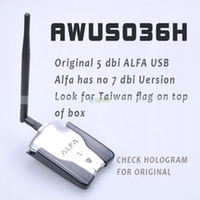 Wholesale ALFA Network USB Wireless G N WiFi Adapter Adaptor Antenna Network Card