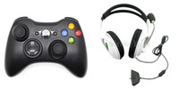Wholesale 1PC in Wireless Game Controller For xbox360 PC Wired Big Headset With Microphone Headset Headphones For Xbox