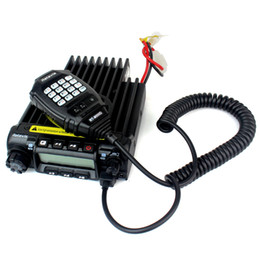 Wholesale Mobile Car Ham Radio Transceiver VHF UHF MHz220 MHz400 MHz W CH CTCSS DCS Groups VOX Scan Retivis RT D A9100