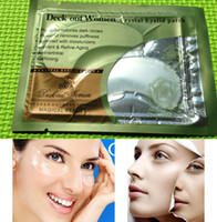 Wholesale EP A x Collagen White Crystal Anti wrinkle Refirming Eye Mask Eyelid Patch Deep Moisture Powerful reduces dark circles puffiness
