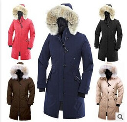 Wholesale Top Selling Women s Goose Down Coat Lady s Winter Coat Goose Down Parka Down Parkas Winter Jacket XS XXL AMY09