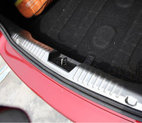 Cheap Stainless Steel Bumper Protector Sill Trunk Trim for CRUZE Sedan auto accessories
