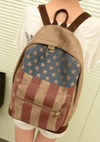 backpacks for women uk - Fashion Korean Style Women Backpack UK US Flag Printing Backpack Casual Child School Bags for Teenagers Laptop backpacks