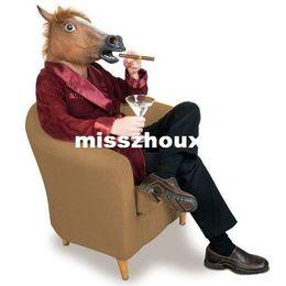 Horse face cosplay animal masks style horse headgear ,full head animal mask,horse mask