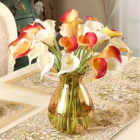 Wholesale Artificial flowers Artificial calla lily soft touch great deco for wedding party home