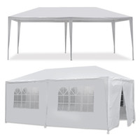 Wholesale Hotting White ft ft ft Outdoor Canopy Party Wedding Tent Gazebo Pavilion Cater Events