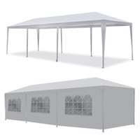 Wholesale US Ship White ft ft ft Outdoor Canopy Party Wedding Tent Gazebo Pavilion Cater Events