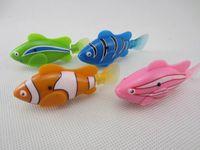 Wholesale epack happy fish robot fish e fish toys swimming electronic fish robo happy fish toy
