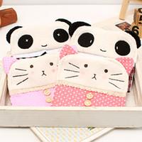 Cheap Cartoon animal girls cotton sanitary storage bag m sanitary napkin bag 13234
