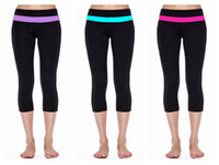 Wholesale Hottest Groove Wunder under crop Yoga Pants For Women Fitness Suit Cheap Legging Soft Cropped Trousers Tight Fit